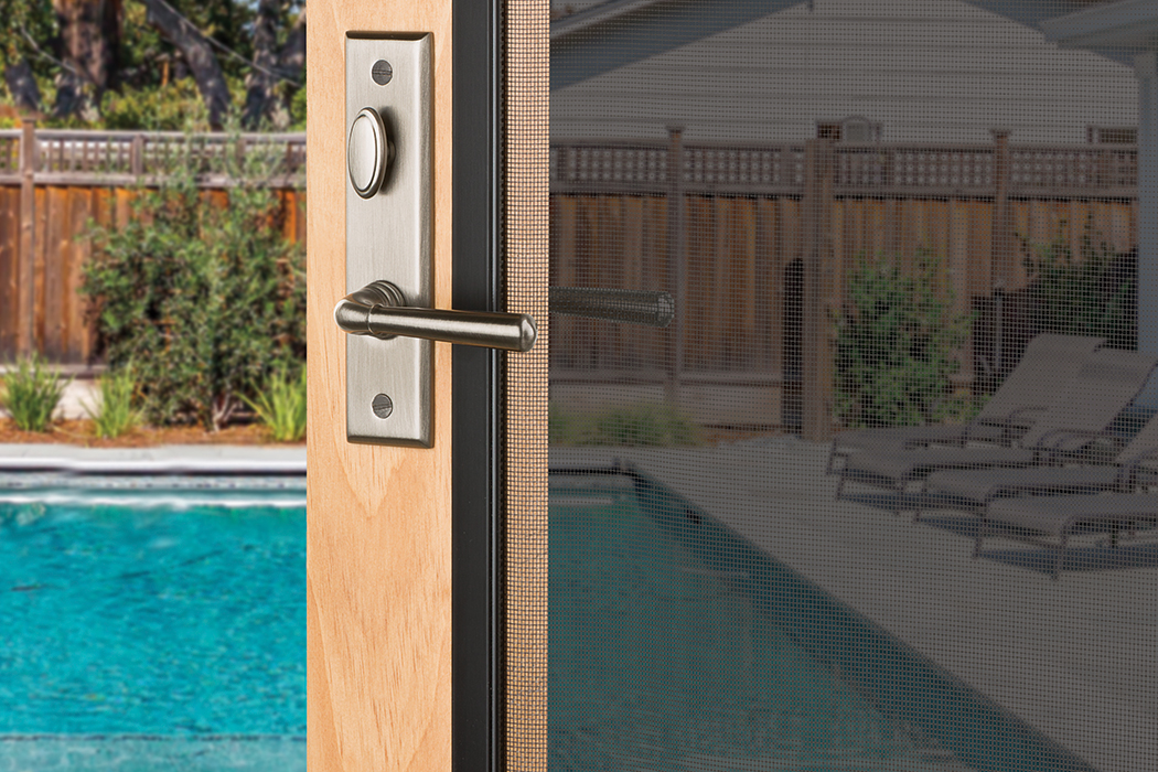 Baldwin Screen Door. Screen Door Hardware