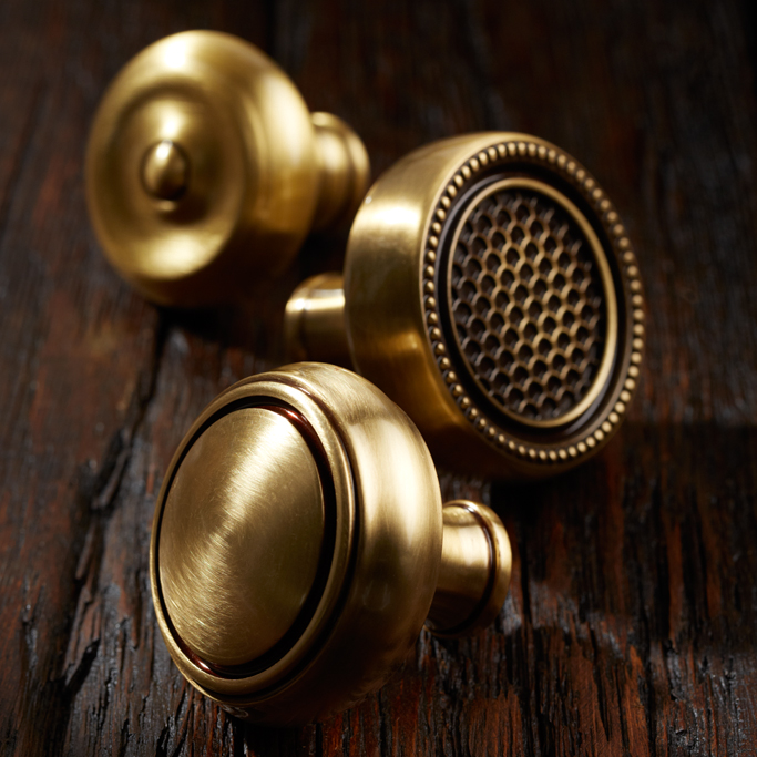 Baldwin Estate door knobs