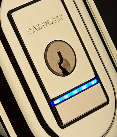 BALDWIN® HARDWARE LAUNCHES SMART HANDLESETS AND DEADBOLTS AT ARCHITECTURAL DIGEST DESIGN SHOW