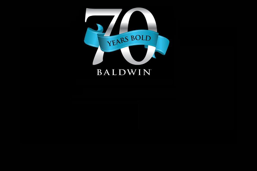 Baldwin is 70 Years Bold